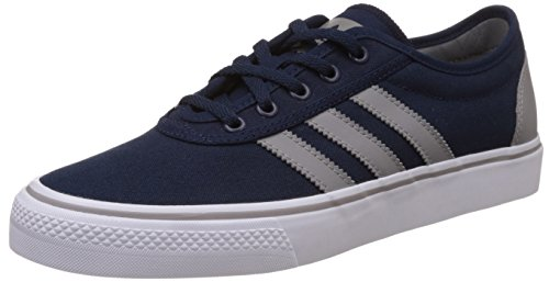 adidas Adi-Ease, Baskets Basses Homme Bleu (Collegiate Navy/Ch Solid Grey/Ftwr White)