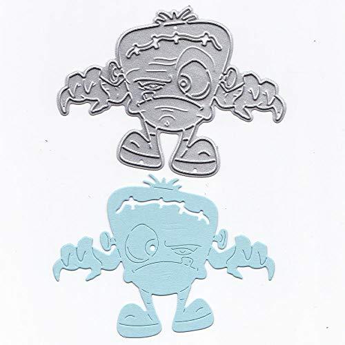 Rameng- Matrice de Découpe Stencil en Métal Scrapbooking Gaufrage Album Embossing Card (E)