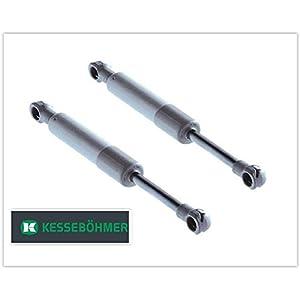 2 x Original Lift-o-Mat Gasdruckdämpfer 250 N mit 3 Jahren Garantie -Gasdruckfeder/ Kompressionsfeder für Kesseböhmer Beschlag (Part-Nr.: 0013379006)