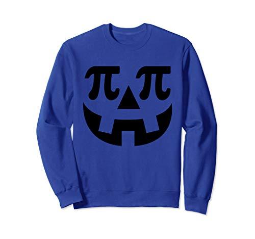 Kostüm Nerd Lustige - Lustige Kürbis Pi Halloween Kostüm Math Nerd Geek Geschenke Sweatshirt