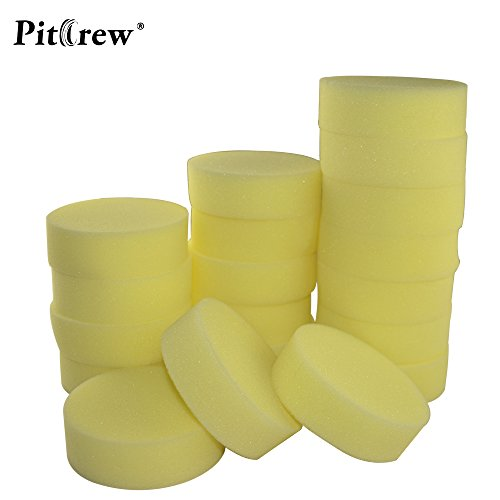 pygex-tm-10pieces-lot-rondella-dellautomobile-di-pulizia-della-cera-polacchi-giallo-schiuma-spugne-t