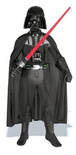 Rubie's - Costume da Darth Fener con spada laser, taglia: S