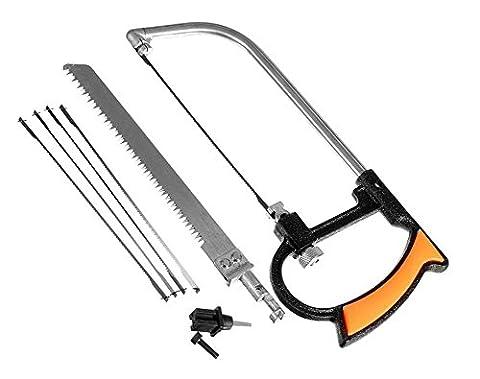 SaySure - 8 in 1 Magic Saw DIY Mental Wood Glass Kit 6 Blades