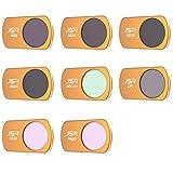TwoCC Drohnenzubehör Filtersatz Star Night Lens Filtersätze Uv   Cpl Nd8 Nd16 Nd32 Nd64 Filter 8 Pakete Für DJI Mavic Mini