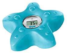 NUK 10256379 Digitales Badethermometer, zum Messen der Wasser-Temperatur
