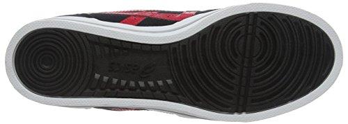 Asics  Aaron, chaussure de sport mixte adulte Noir (Black/Classic Red)
