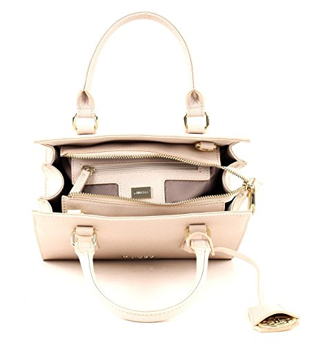 GUESS Charme Small Satchel Rose Beige