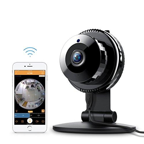 FREDI 960P HD WiFi telecamera IP Surveillance sicurezza a casa visione notturna rilevamento di movimento audio bidirezionale animali/Baby Monitor