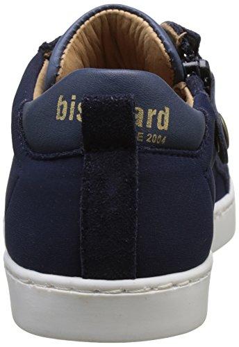 Bisgaard 31801117, Baskets Basses Garçon Bleu (617 Blue)