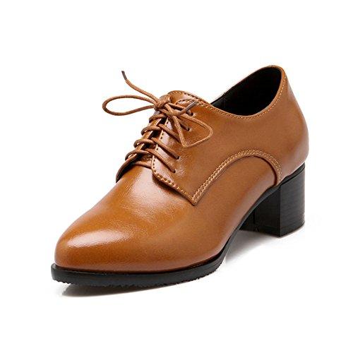 Deep punte scarpe/Scarpe di lavoro pesante con/ scarpe in pizzo/Scarpe donne di grandi dimensioni-B Lunghezza piede=24.8CM(9.8Inch)