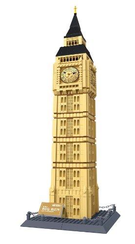 The Big Ben. London UK Architectures Building Bricks Toy Set (Not LEGO Brand. But Wange)