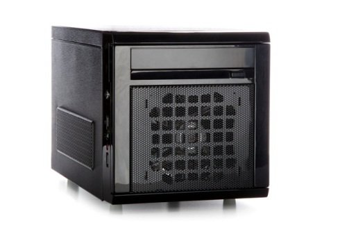 Itek Case nCUBE Storage Mini ITX 300W PSU Full Black - Hot swap