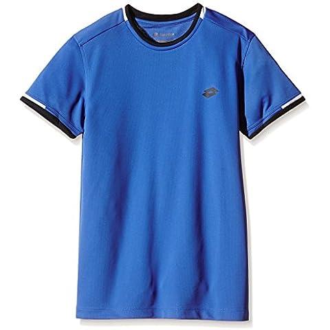 Lotto Sport T-Shirt Aydex B - Vestidos de tenis para niña, color Turquesa, talla XL