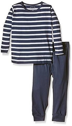 NAME IT Baby-Jungen Zweiteiliger Schlafanzug NITNIGHTSET M B NOOS, Gestreift, Gr. 98, Mehrfarbig (Dress
