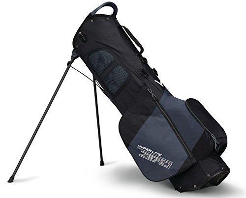 Callaway Hyper-Lite Zero Tasche mit Ständer, Black/Titanium/White, M -