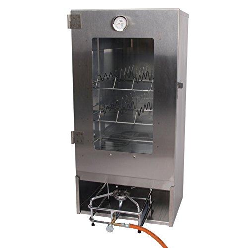 Räucherofen Gas Set Räucherschrank und Gaskocher zum heissräuchern