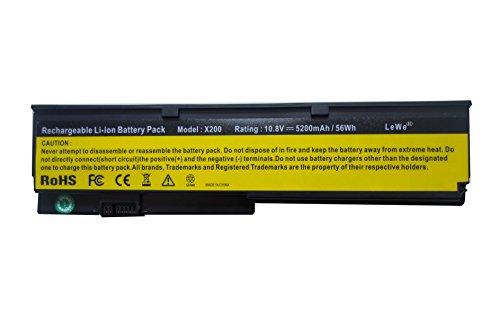 LeWe® Akku Batterie für Lenovo IBM ThinkPad X201 ThinkPad X200 ThinkPad X200s...
