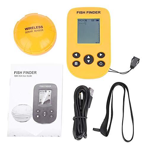 Alomejor 125KHz Sonar Frequenz Wireless Fishing Sensor Unterwasser Wandler Fishing Finder Frequenz-sonar-fishfinder