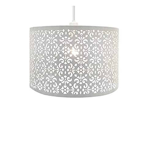 Chandelier Chic Ceiling Light Pendant Shade Crystal Droplet Fitting Easy