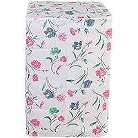 Vosarea Schutzhülle für Waschmaschine, Zum Aufladen vor der Wäsche, Wasserdicht, Blumenmotiv Petunia