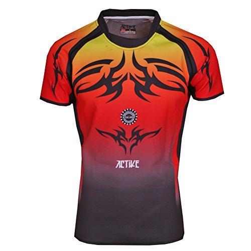 ACTIVE Custom design poliestere jersey sportswear rapida