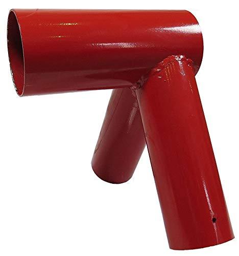 Gartenpirat Schaukelverbinder rot für Holz rund 100/80 mm Schaukel selber Bauen