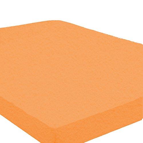 Vario-fleece (Teddy-Flausch / Biber-Spannbettlaken, terra, 140/160 x 190/200)