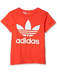 adidas DH2474 Camiseta, Niños, Rojo / (rojbri/Blanco), 146 (10/11 años)