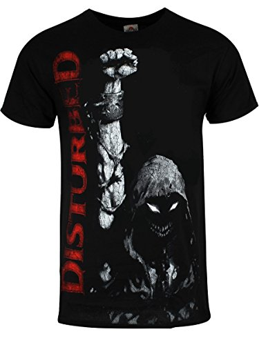 Disturbed T-Shirt Up Your Fist da uomo in nero