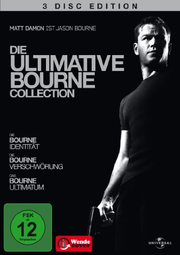 (1-3) Die ultimative Bourne Collection (3 DVDs)