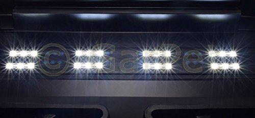 80×35 cm Aquarium Terrarium Abdeckung LED 8,64 W Beleuchtung Deckel schwarz 80 - 4