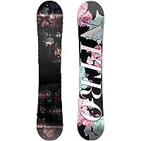 Nitro Snowboards Women's Fate Camber Snowboard, Womens, Fate Camber
