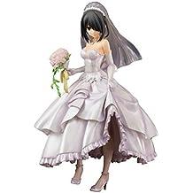 Date A Live Statue 1/8 Kurumi Tokisaki Wedding Ver. 22 cm Pulchra