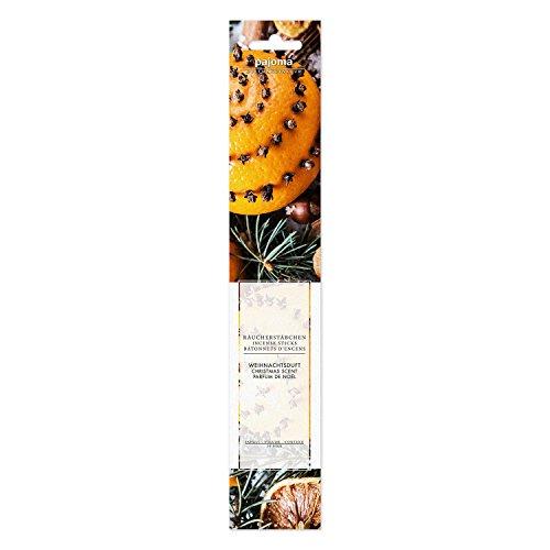 Pajoma Räucherstäbchen ''Weihnachtsduft'' aus Indien, 10er Pack, L 28 cm
