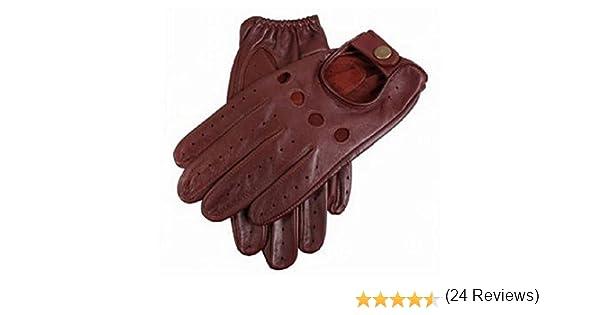 Dents Anglais Tan Delta cuir gants de conduite