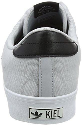 adidas Kiel, Chaussures de Skateboard Mixte Adulte Gris (Lgsogr/cblack/ftwwht)
