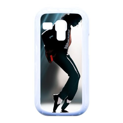 Samsung Galaxy S3 Mini i8190 Cell Phone Case White Famous Singers Michael Jackson Custom Case Cover QW8I548587 (Mk Galaxy S3 Case)