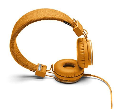 Urbanears Plattan Cuffia Stereo con Microfono, Arancione