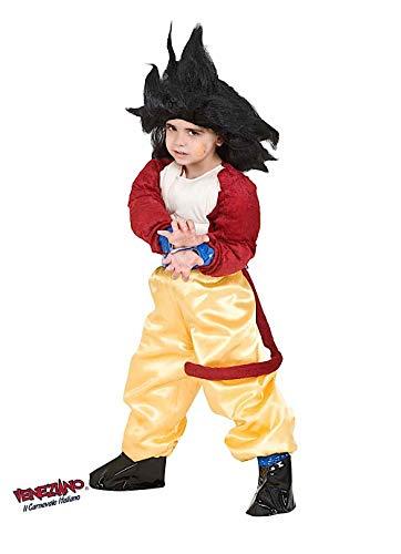 Costume di carnevale da dragon gt baby vestito per bambino ragazzo 1-6 anni travestimento veneziano halloween cosplay festa party 8114 taglia 6