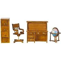 Casa Delle Bambole Miniature Tradizionale Studio Set