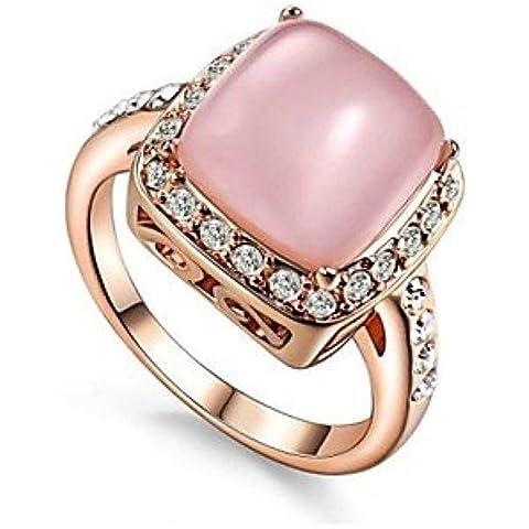 classico della signora 4 artigli opale anello partito di pietra