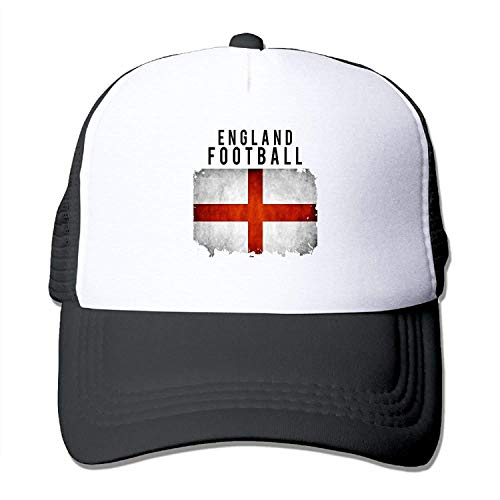 England Football 2018 Youth Mesh Baseball Cap Summer Adjustable Trucker Hat