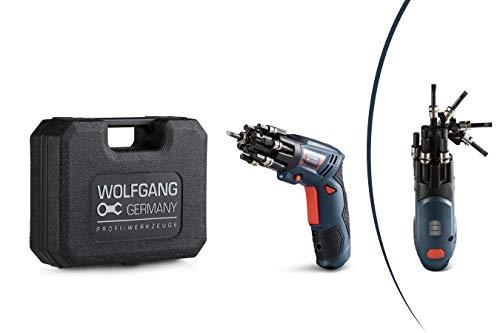 WOLFGANG Mini-Akkuschrauber 3,6 V / 1,5 Ah