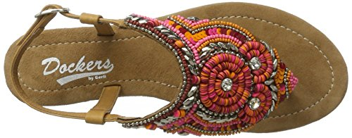 Dockers Gerli 447 100447 Sandales tan 36an208 Femme By Multicolore Multicolore rZw5zrqv