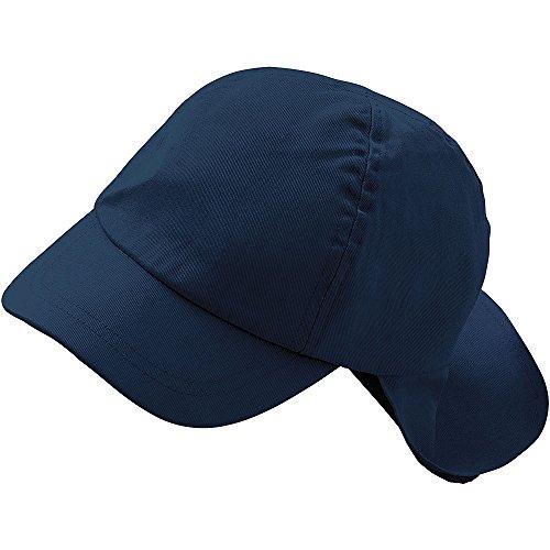 Childs Boys Girls Cotton Legionnaires Summer Sun Hat Multi Plain Colours