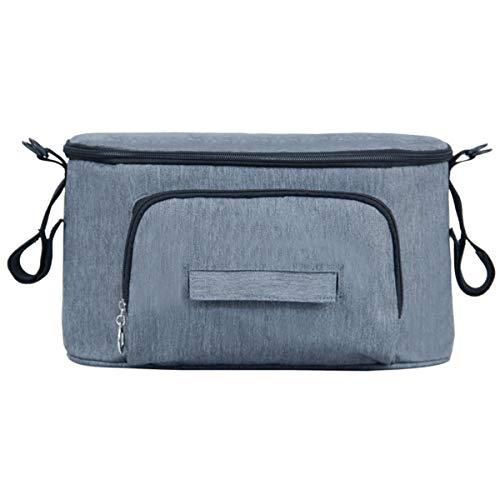Bolsa multifunción para bebé, bolsa de almacenamiento de cochecito de bebé, bolsa de pañales, colgador...