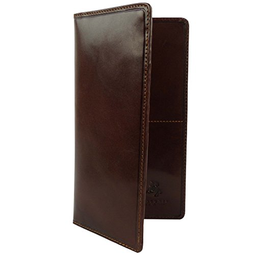 Visconti - Portefeuille Costume Slim en Cuir Italien pour Homme Collection Monza
