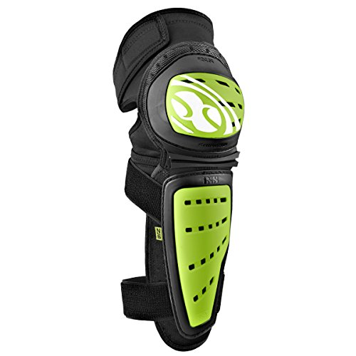 IXS Adultos Knee/Shin Guard Mallet Verde Verde Talla:Small