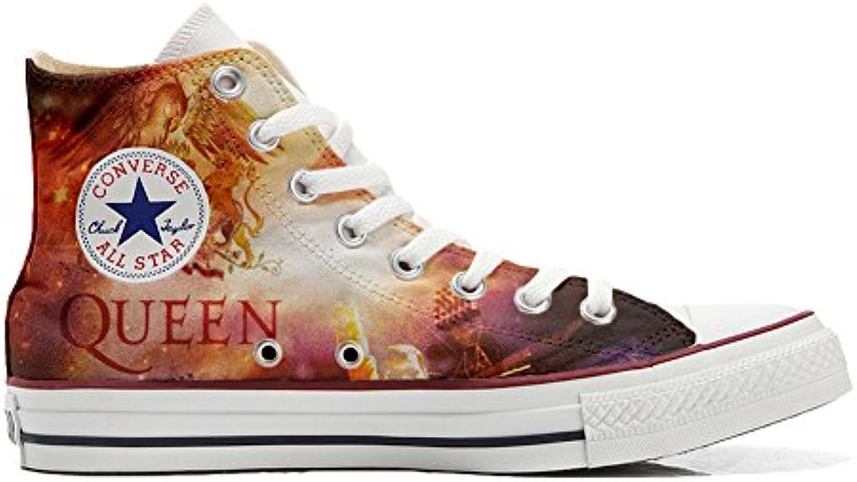 Converse All Star Zapatos Personalizados (Producto Handmade) (Producto Handmade) Music Size 41 EU