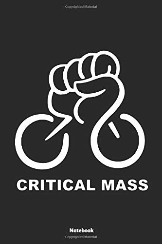 Notebook: Critical Mass Bicycle (lined paper)